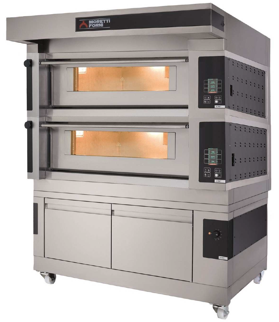 S100E   MULTIFUNCTIONAL TOP-QUALITY DECK OVEN WITH ELECTRONIC CONTROL  Available in 1, 2 or 3 Decks