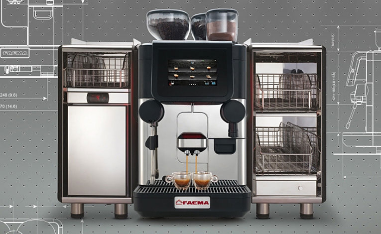 Experience in high-quality coffee   Thanks to the preheated, completely metal group head, you can achieve outstanding results, even for single-origin and specialty coffee, with a guarantee of consistent extraction over time.