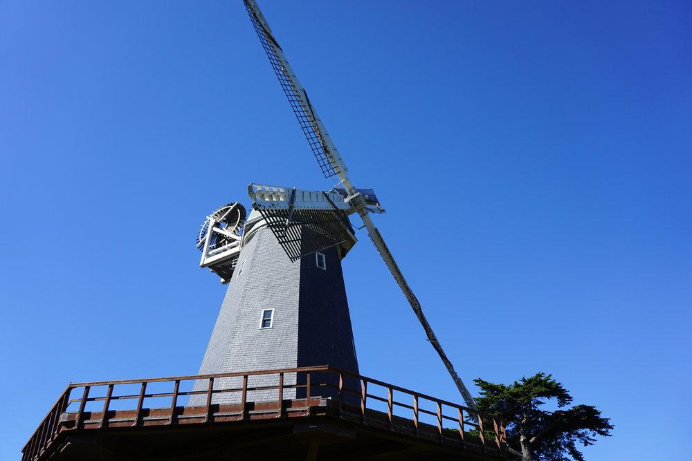 The HIstoric Miller Windmill