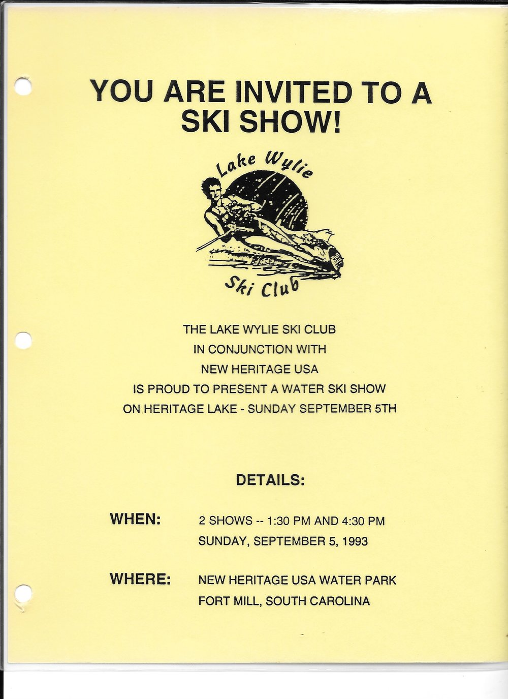 1st Ski Show September 5, 1993 flyer.jpg