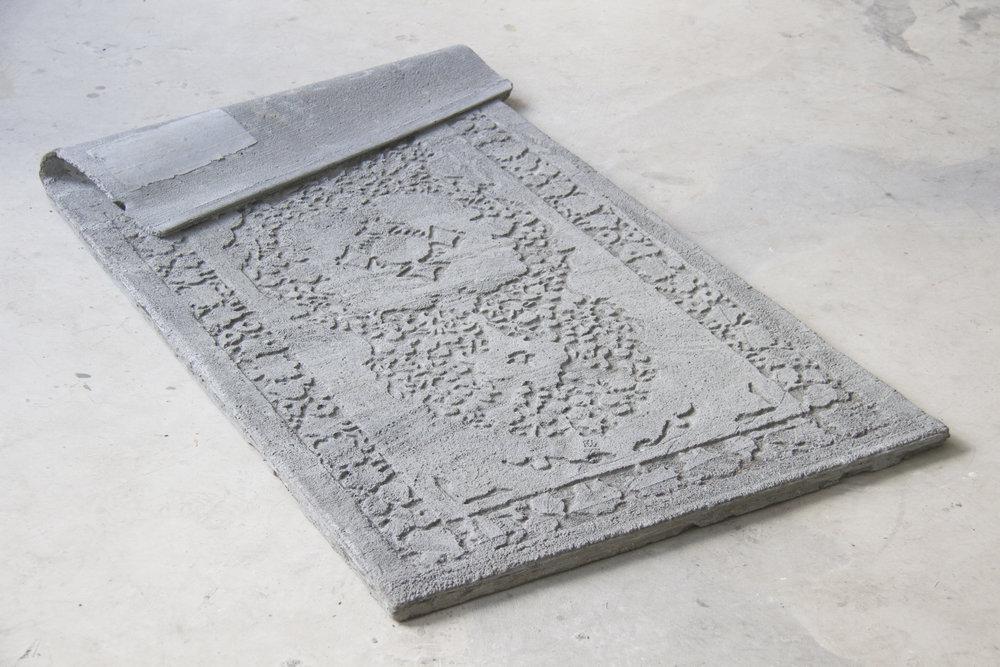 Irrational Loop of Dust, Fadi Al-Hamwi, Concrete, 2018