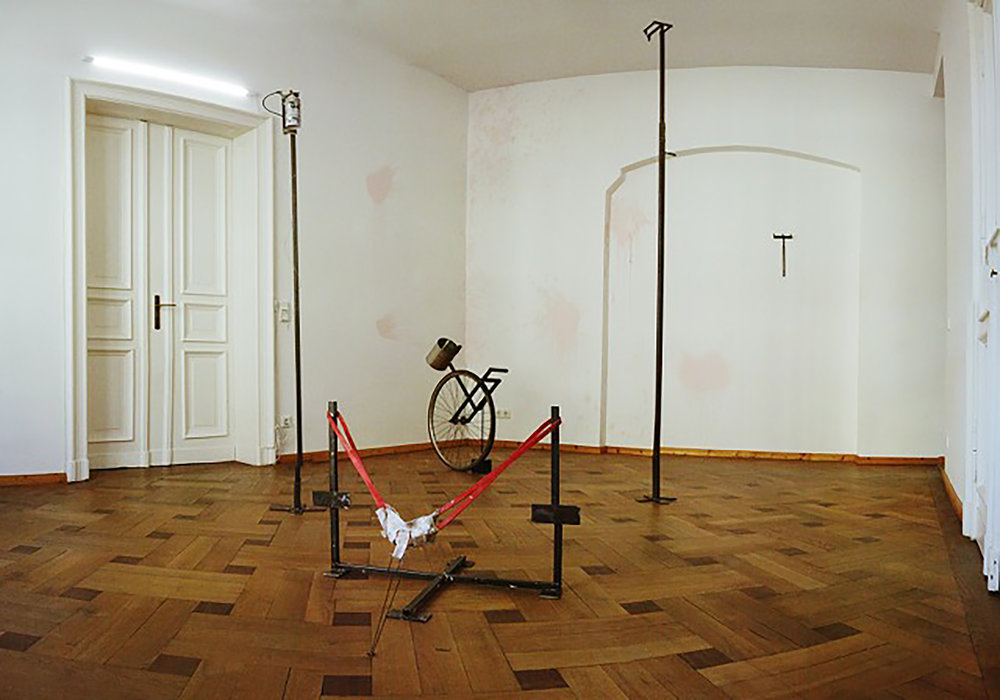 Install shot, AGAINST PEOPLE AGAINST PEOPLE, Rob Blake, 2017