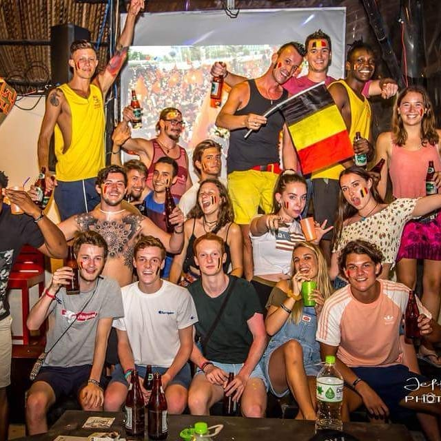 World Cup vibes from Mui Ne Hills. Congrats to Belgium on the win . . . . . . . . . . . . . #Belgium #worldcup2018 #gobelgium #muinehills #backpacker #visualizeleaving #oleoleoleole #Vietnam #backpackvietnam #travel #travelvietnam