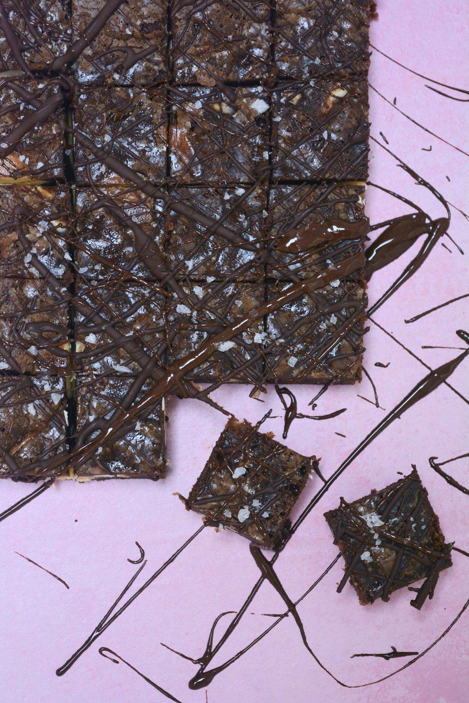 Nigella Triple Chocolate Brownies - Margie Nomura