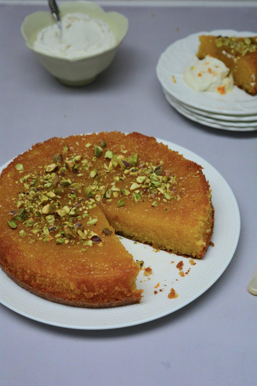 Tunisian Orange Cake - Desert Island Dishes - Margie Nomura