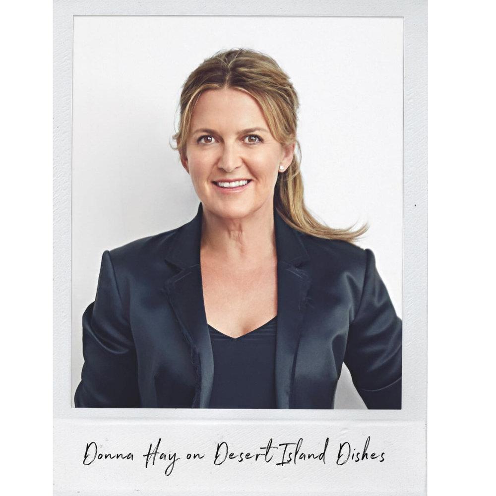 Donna Hay on Desert Island Dishes