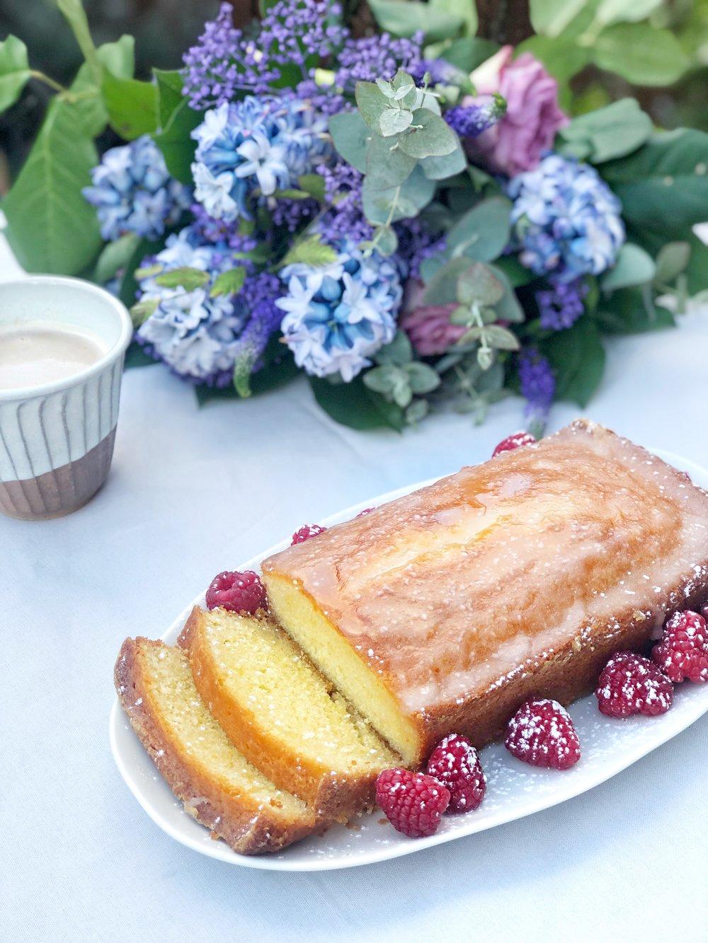 Lemon drizzle cake - Desert Island Dishes