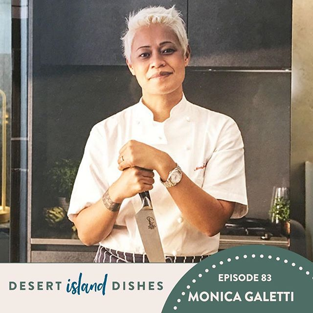 My guest on Desert Island Dishes today is Monica Galetti (@galettigram)  Monica is a chef, a restaurant owner, Masterchef The Professionals Judge, and TV presenter for which she travels the world along with food critic Giles Coren for the program Amazing Hotels.  She has recently opened her first restaurant Mere (@mererestaurant) with her husband David. Before that she was senior sous chef at two Michelin starred restaurant Le Gavroche with Michel Roux Jr and importantly she was the first woman to hold such a senior position at the restaurant.  Thank you to San Pellegrino for sponsoring this episode of Desert island Dishes.  If you or anyone you know wants to get the chance to cook for some of the world's most acclaimed chefs, head to www.sanpellegrinoyoungchef.com/en/application  Don't forget that you can rate review and subscribe to the podcast on itunes and it really does make such a difference, it boost sthe show in the charts and helps others to find it which is great and means I can keep bringing it to you each week.  Link to listen in my bio and stories 🤗 #desertislanddishes