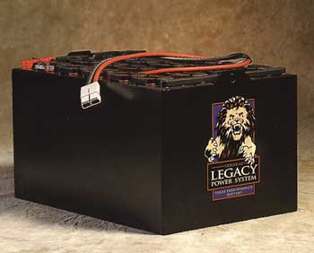 Legacy Power Systems high performance industrial battery