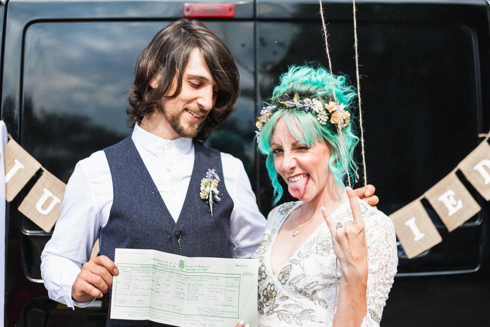 Bond Photography Zoe & Perry Wedding RockNRoll Bride Cambridge Wedding Photography