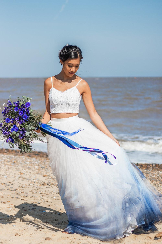 Beach Wedding Styled Shoot Bedfordshire Wedding Photographers