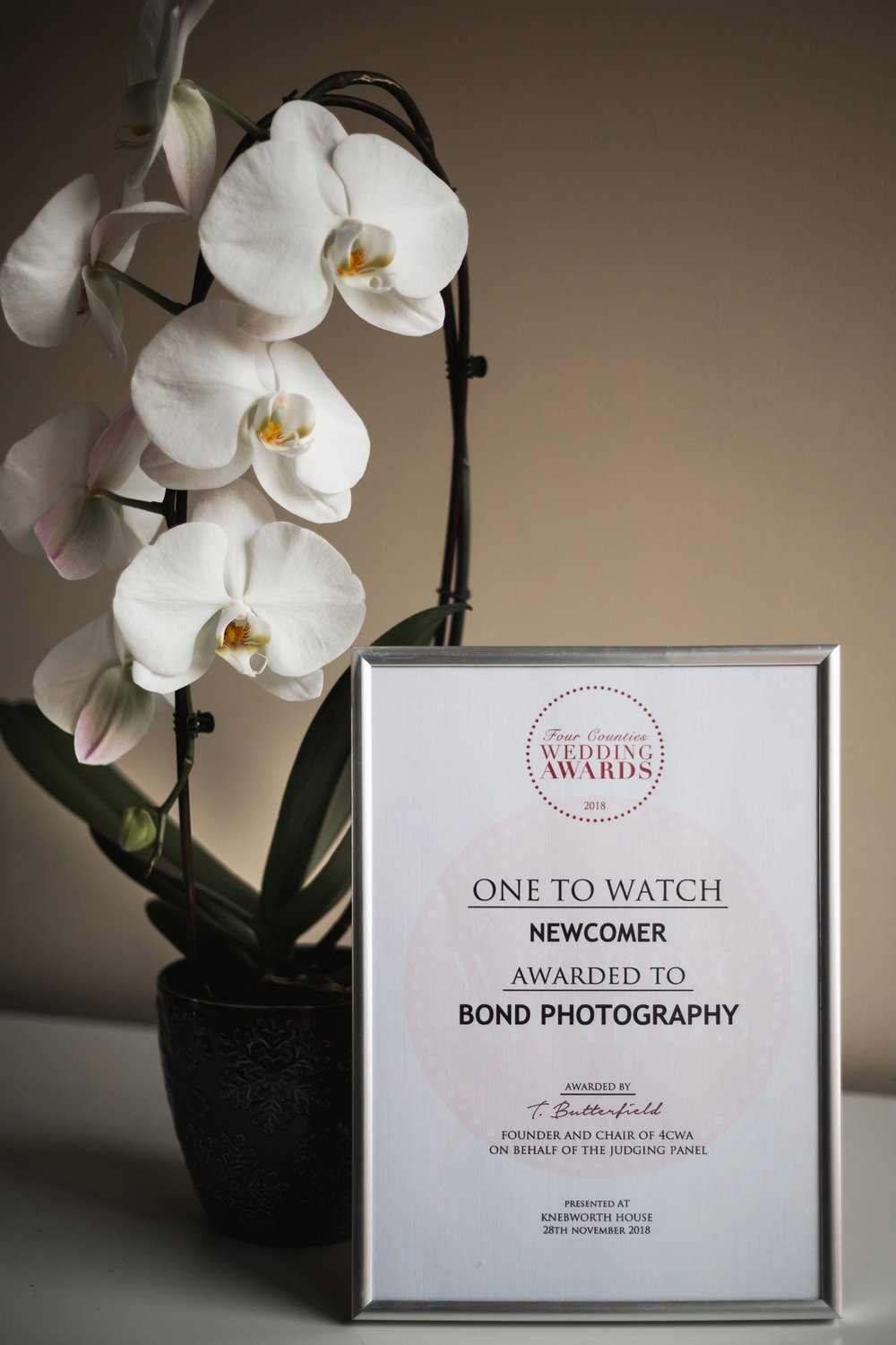 Bond Photography Four counties wedding award winners bedfordshire wedding photographer