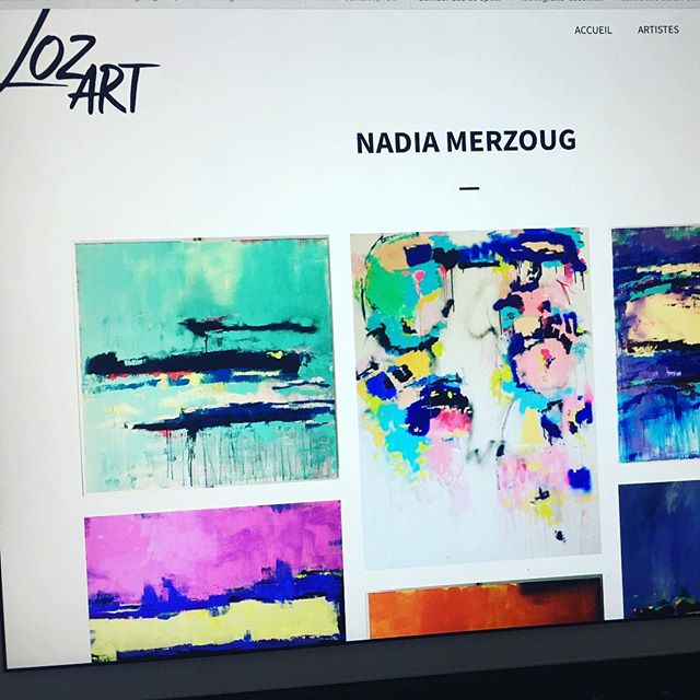 Merci LozArt ✨@lozart.ch pour cette jolie présentation! Je suis flattée de faire partie de votre sélection d'artistes!✨ #art#painting #colors#lozart#gallery #peinture#artist #artwork #selection #lausanne#project #nmerzoug