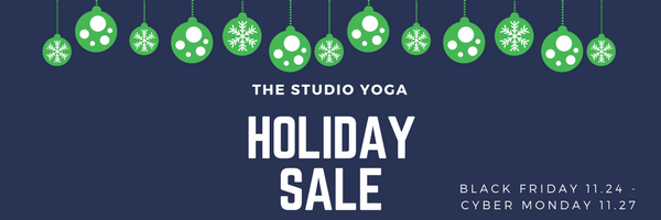 #ShopSmall on #SmallBizSat at The Studio Yoga