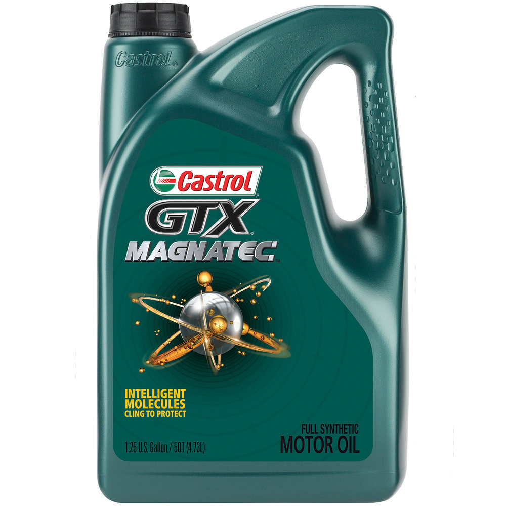 Full Synthetic     $64     Recommended for many vehicles manufactured after 2007.     Castrol GTX Magnatec,    0W-20, 5W-20