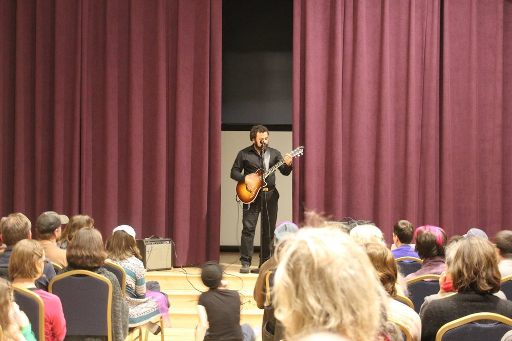 Bobby Rubio on guitar