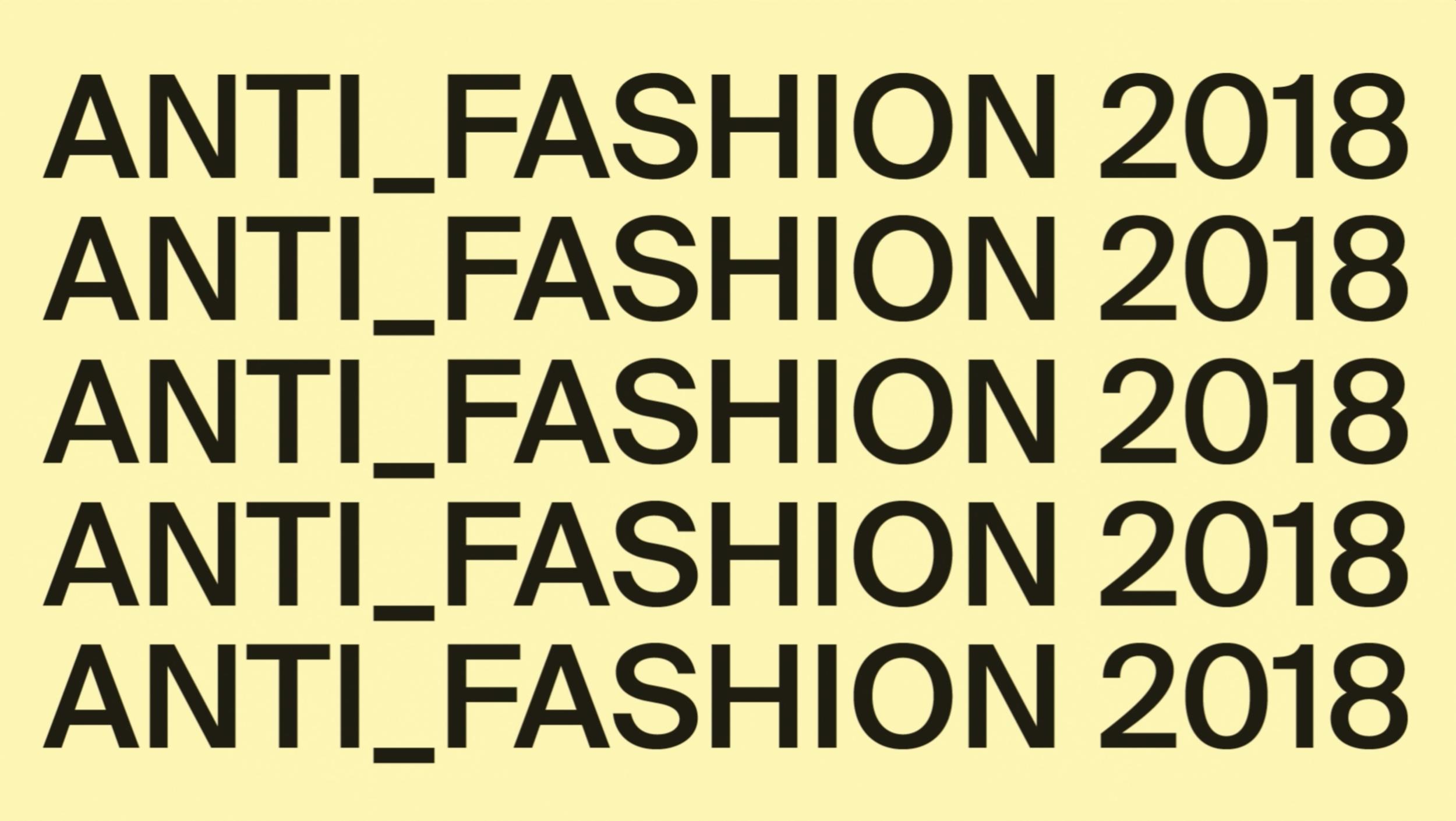 f110c45a15df Anti Fashion Project