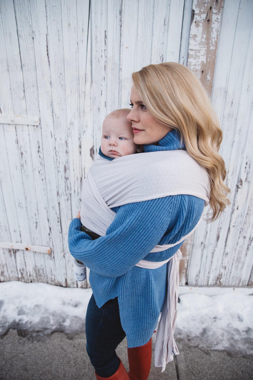 Solly Baby Wrap Jessica Bakken