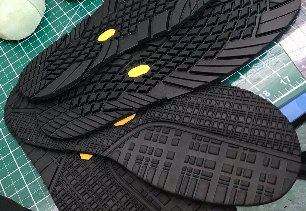 - We wanted to show a closeup of some of our Vibram USA bottoms about to be added to our upcoming Spring styles.We're excited to be collaborating with them and have more styles in the pipeline specifically for their outlet.The Lee & Barrett assortment is expanding by the minute.