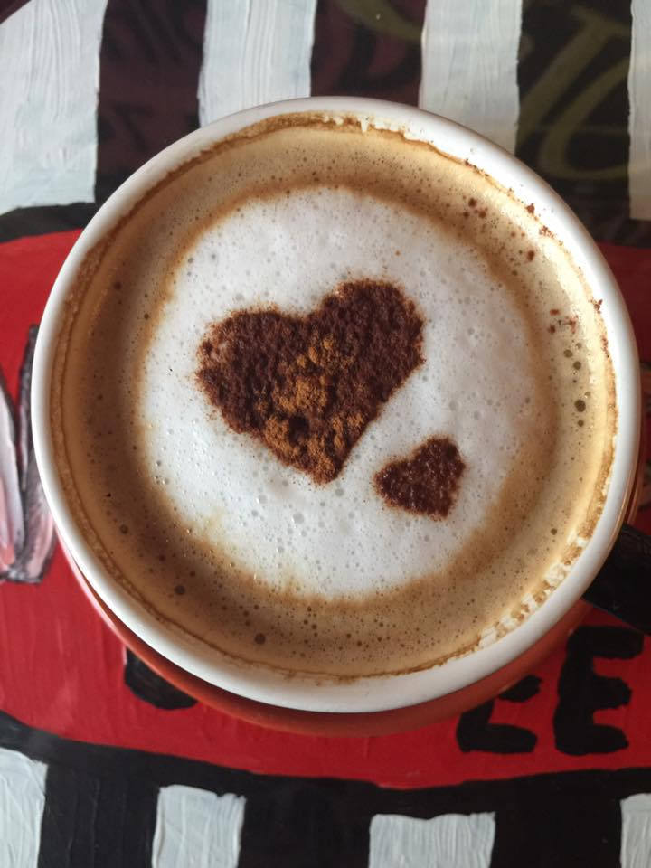 You'll love our Gingerbread coffees a latte.