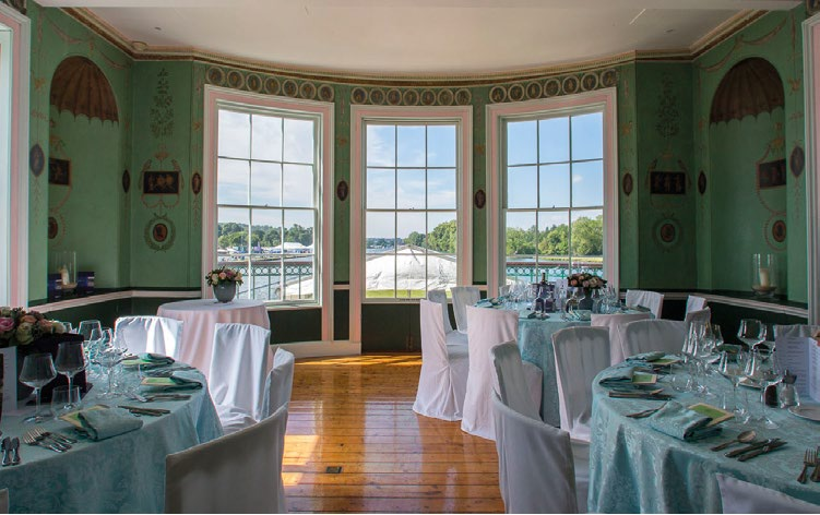 Henley royal regatta temple island private hospitality vip package