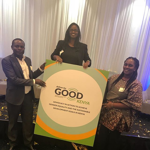 KAYSRH was well represented at the launch of #deliverforgoodkenya ; an initiative  by @women_deliver. #DeliverforGoodKenya is a new initiative to put #girls & #women at the center of sustainable development. Together we can advance #GenderEquality & achieve the #SDGs in #Kenya! #SDGMashinani #16DaysOfActivism #Youth4SRHR