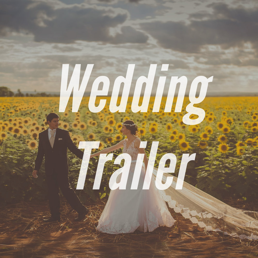 """This is a short """"trailer"""" that shows some of the highlights from our montage. It will be edited and given to you before the completion of the actual montage and will be posted to share with your family and friends to show what is in store for your wedding montage."""