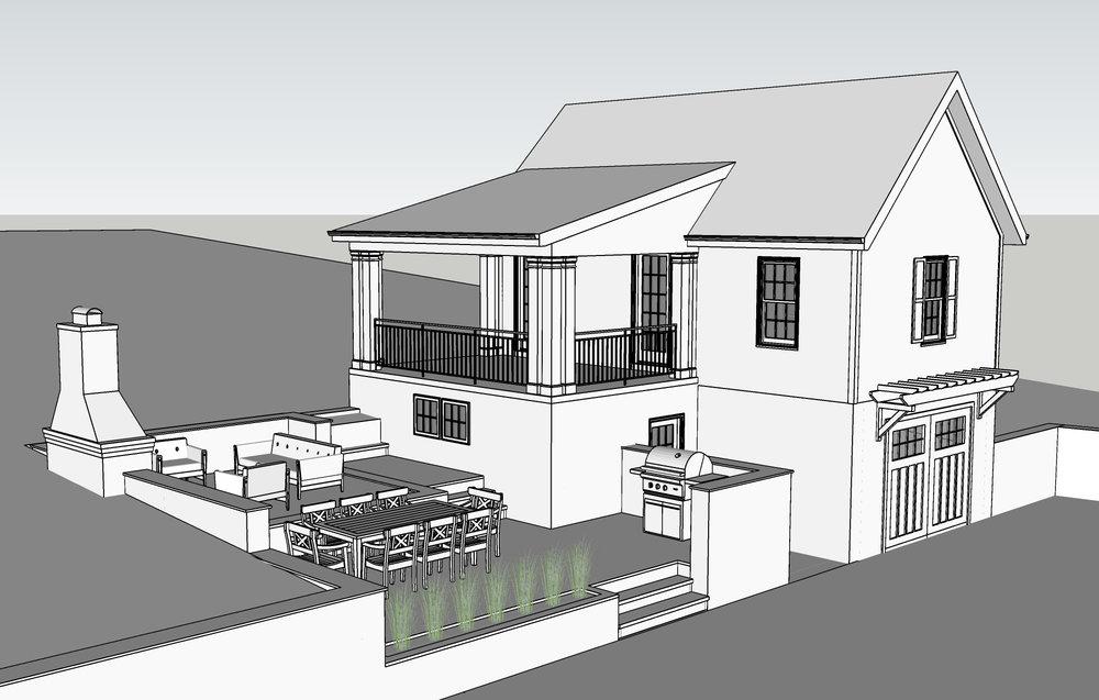 Wood - Garage & Patio Addition