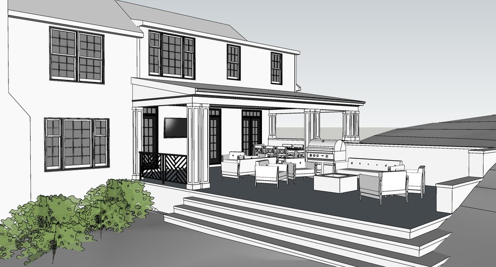 Panorama - Porch & Patio Addition