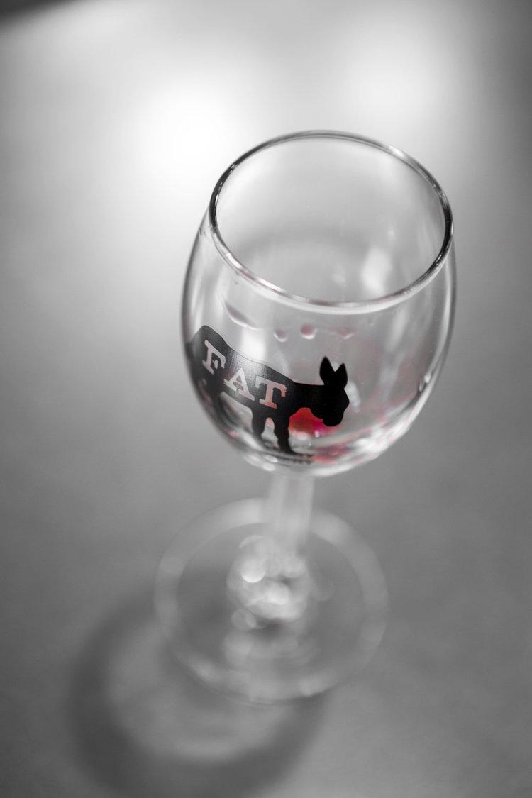 get your fat ass glass — fat ass ranch & winery