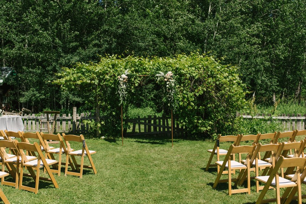 Muskoka POP-UP Wedding Chapel, July 4th