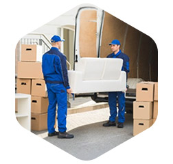 MEDIUM SIZE STORAGE - From the contents of a transit van or a 1 bed flat, up to a 2 bed home