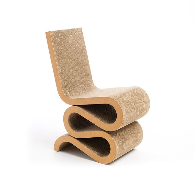Wiggle side chair - Frank O Gehry (1972) Vitra