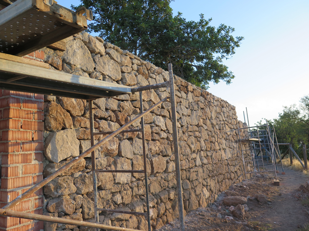 retaining wall contractor okc