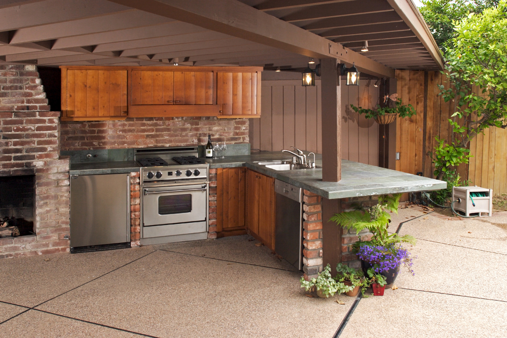 outdoor kitchen designer OKC