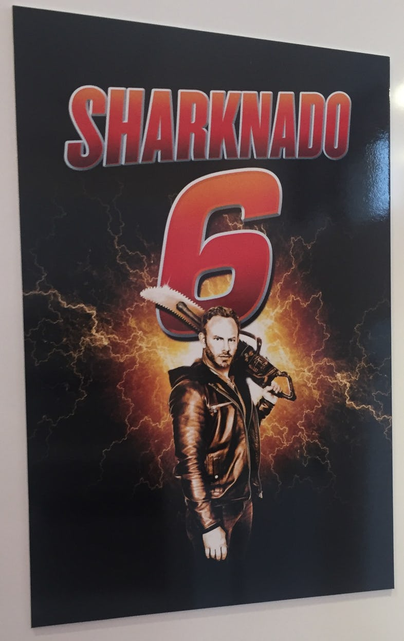 Sharknado 6 - Le Petit Cahier