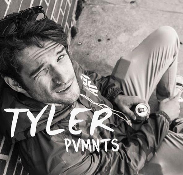 Tyler Posey PVMNTS - Le Petit Cahier