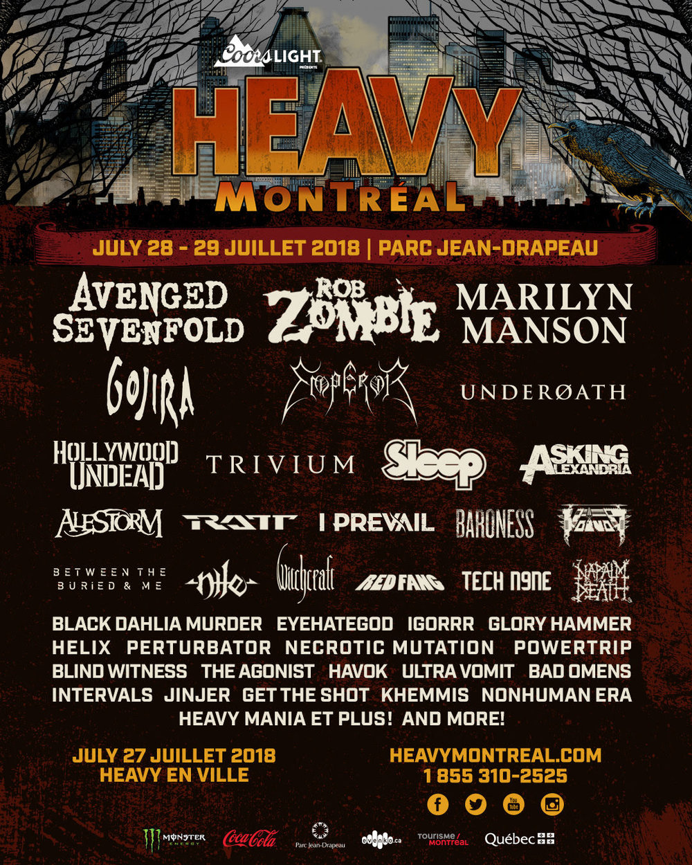 Heavy Montreal 2018 - Le Petit Cahier