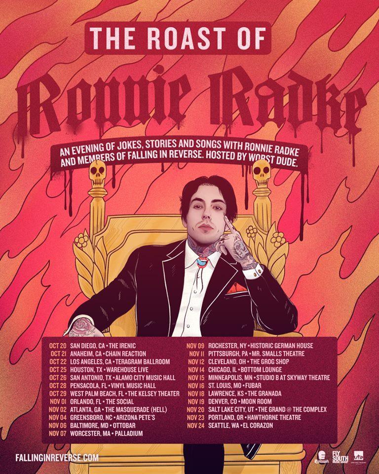 The Roast Of Ronnie Radke - Le Petit Cahier