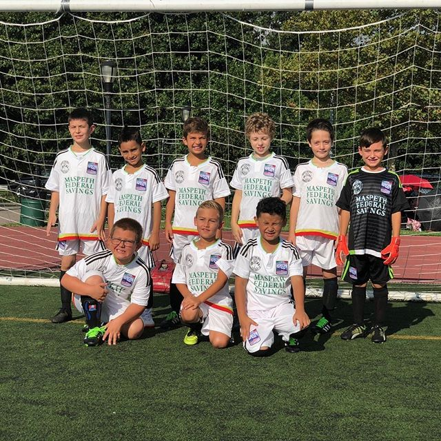 Under-9 Start of the season. Good luck boys!
