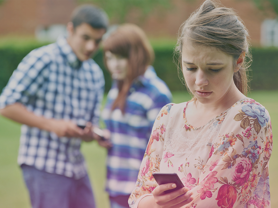 Four Steps to Stop Cyberbullying -