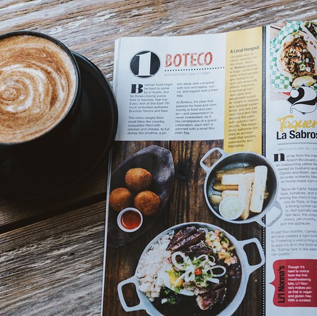 Thanks @eastsideatxmag for loving @botecoatx as much as we do! Authentic Brazilian fare on our shaded patio. See you this weekend!