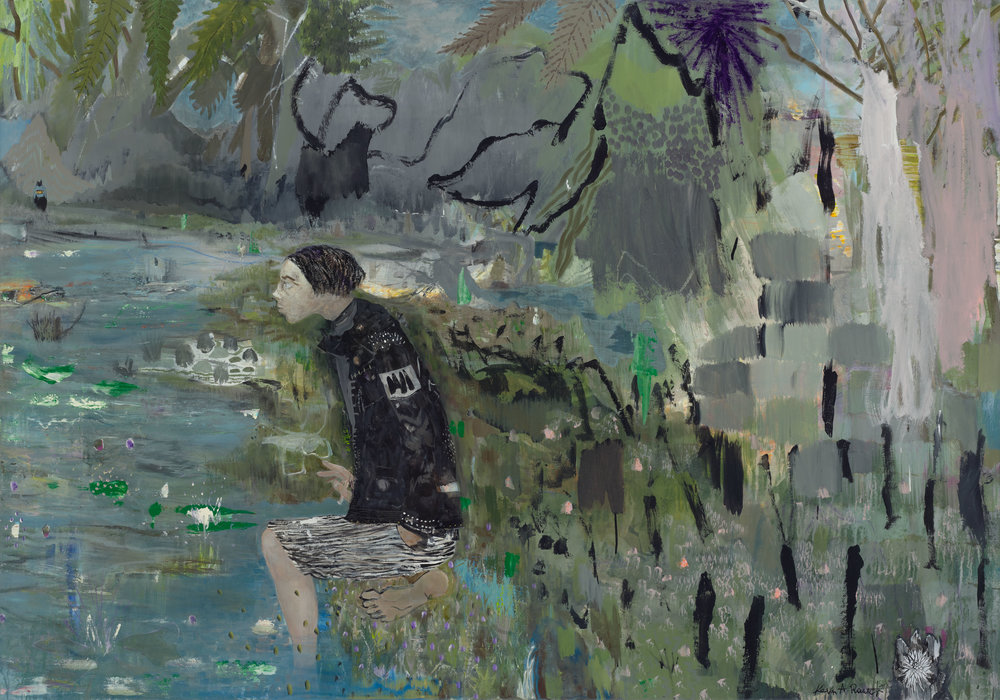 I will not stay in paradise, 200x140cm, 2013