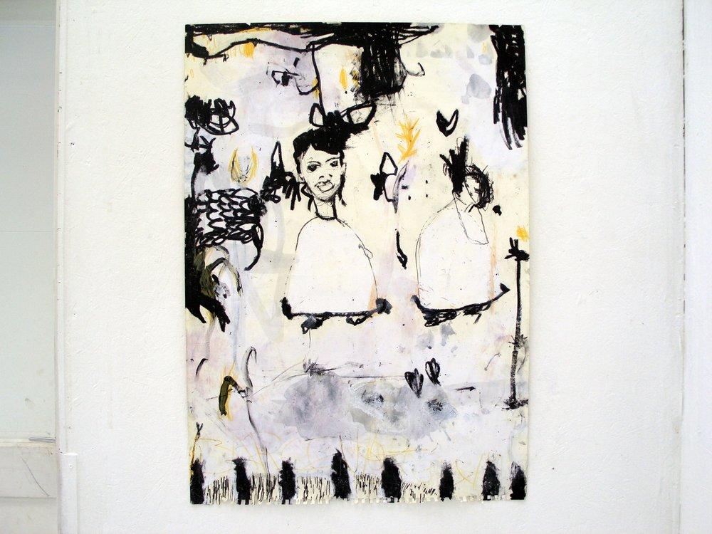tauro entrada, 84x52cm, paper, 2007