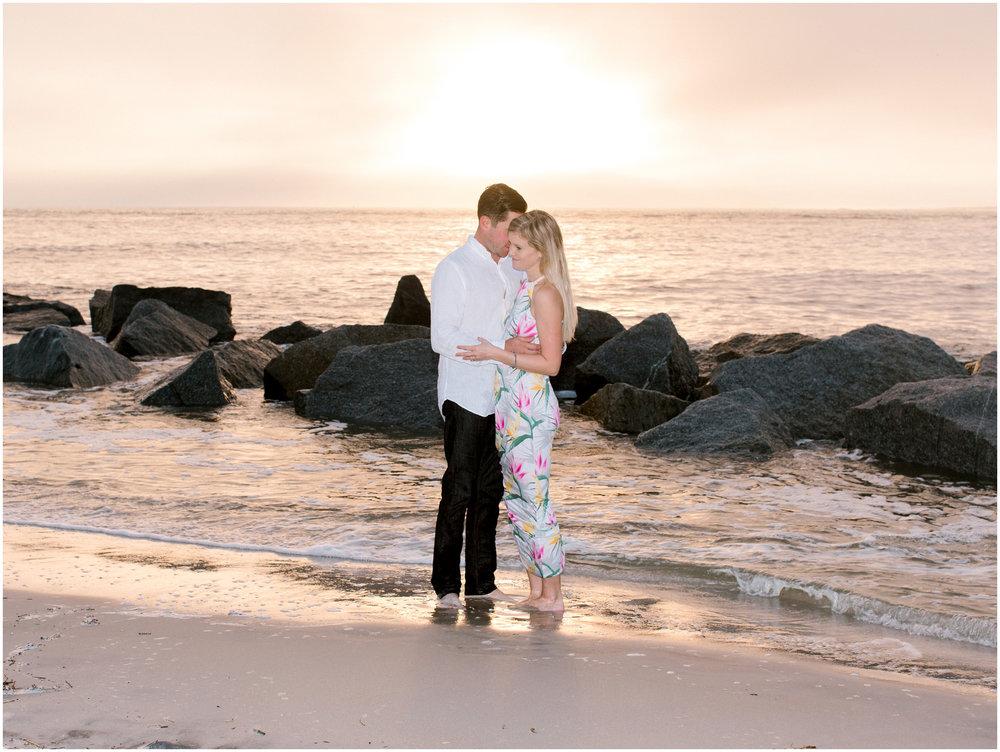Sunrise Engagement Session at Vilano Beach- Jacksonville, Florida Fine Art Film Wedding Photography_0002.jpg