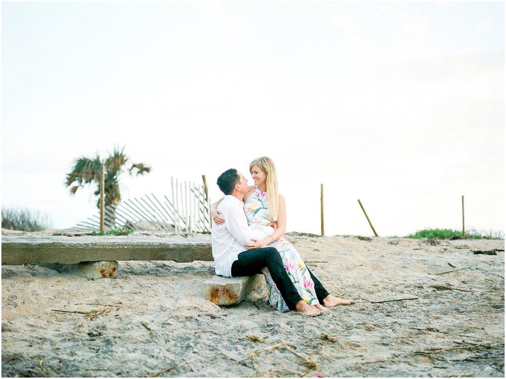 Sunrise Engagement Session at Vilano Beach- Jacksonville, Florida Fine Art Film Wedding Photography_0011.jpg