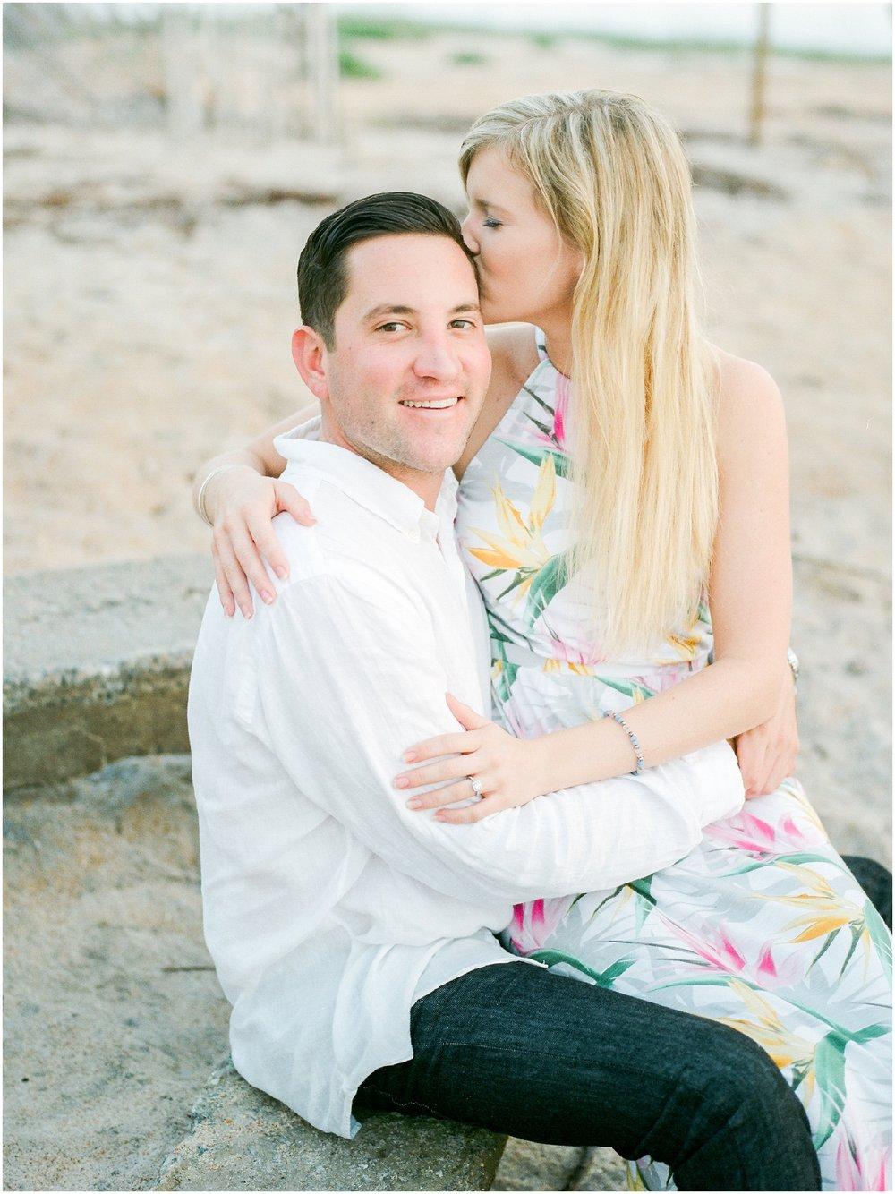 Sunrise Engagement Session at Vilano Beach- Jacksonville, Florida Fine Art Film Wedding Photography_0010.jpg