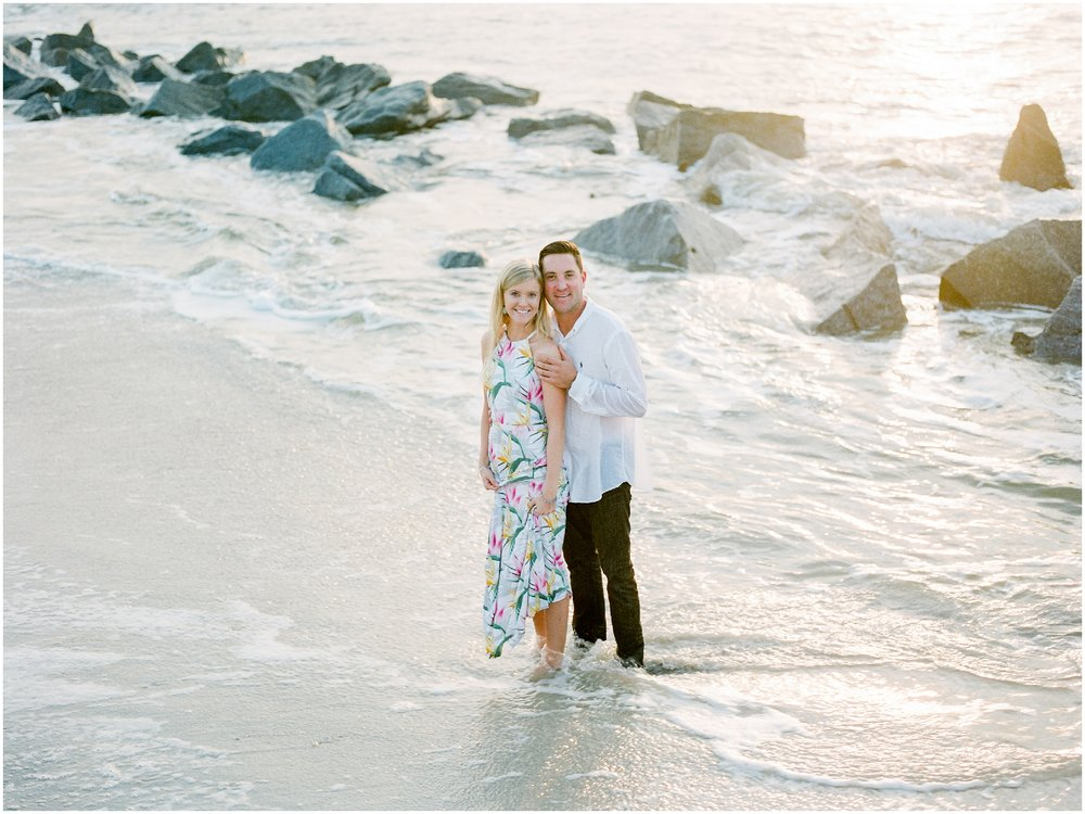 Sunrise Engagement Session at Vilano Beach- Jacksonville, Florida Fine Art Film Wedding Photography_0015.jpg