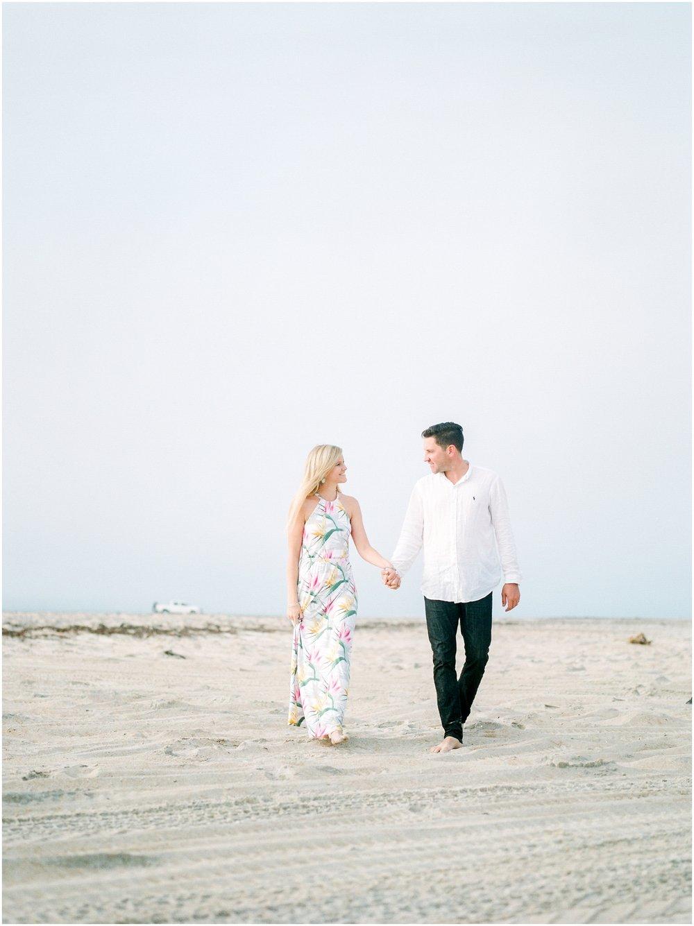 Sunrise Engagement Session at Vilano Beach- Jacksonville, Florida Fine Art Film Wedding Photography_0024.jpg