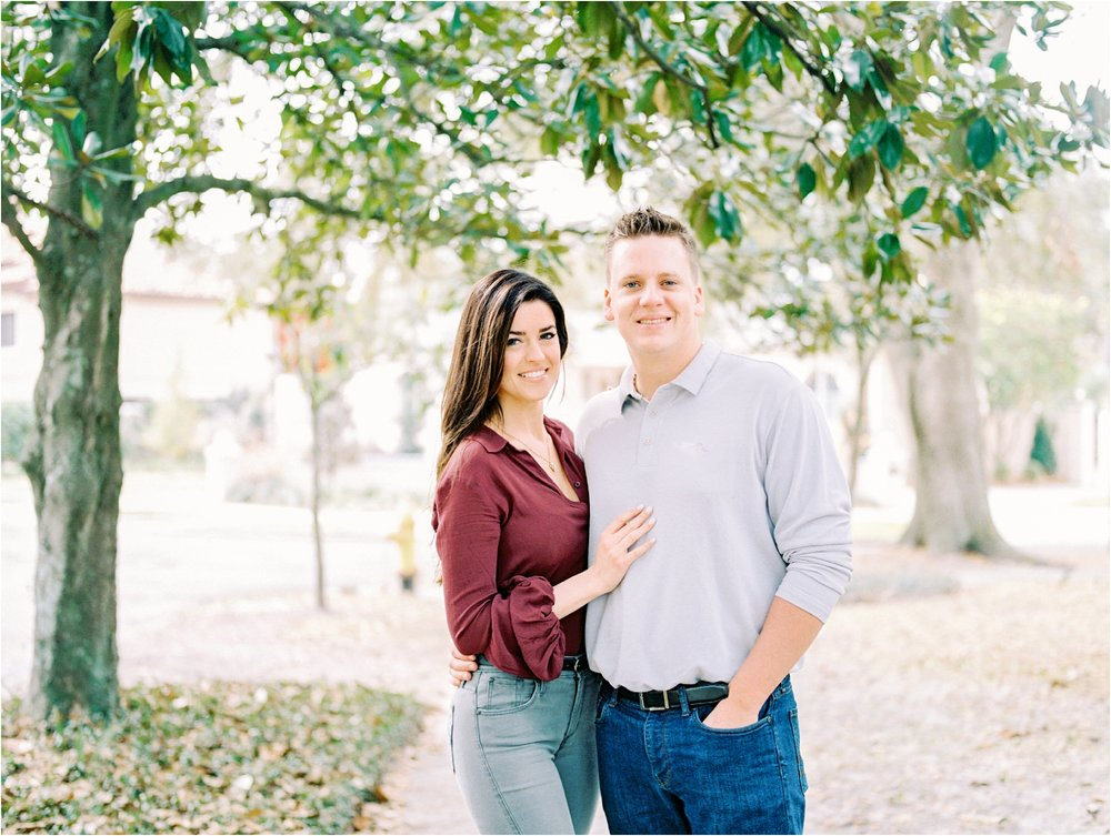 Lisa Silva Photography- Ponte Vedra Beach and Jacksonville, Florida Fine Art Film Wedding Photography- San Marco Jacksonville florida Engagement Session_0008.jpg